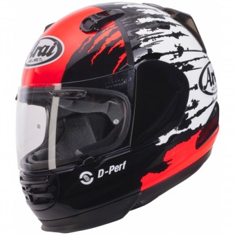Casque Integral Arai Rebel Splash Red