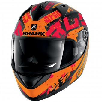 Casque Integral Shark Ridill Kengal Mat KOR