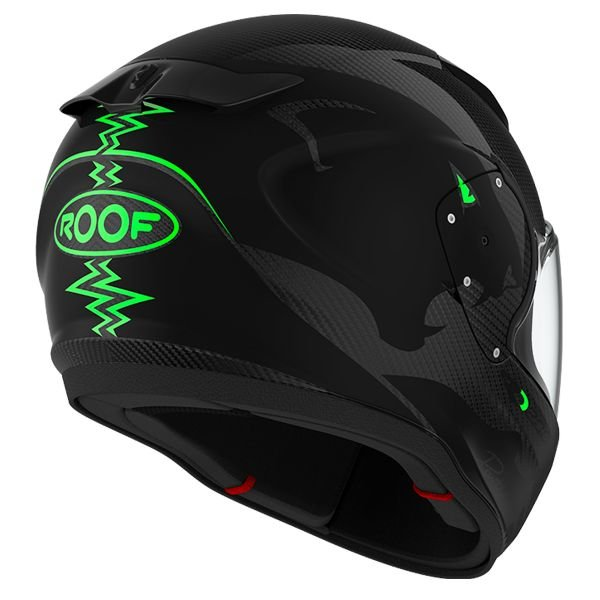 Roof RO200 Carbon Panther Black Green