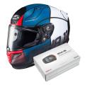 Pack RPHA 11 Quintain MC21SF + Kit Bluetooth Sena SMH5
