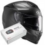 Casque Integral HJC RPHA 70 Semi Mat Titanium + Kit Bluetooth Sena SMH5
