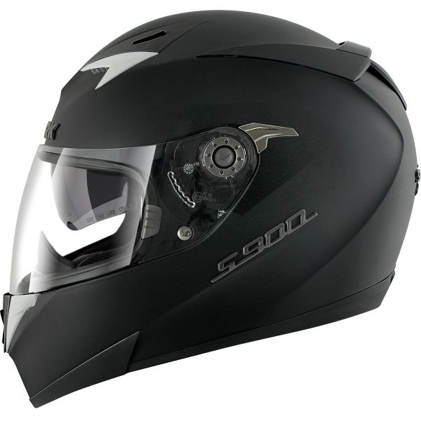 Casque Integral Shark S 900 C Pinlock Dual Black BLK
