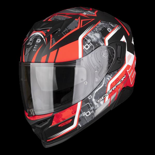 Casque Integral Scorpion Exo 520 Air Fabio Quartararo + Kit Bluetooth SMH5 Solo
