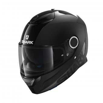 Casque Integral Shark Spartan 1.2 Blank BLK