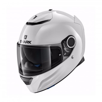 Casque Integral Shark Spartan 1.2 Blank WHU