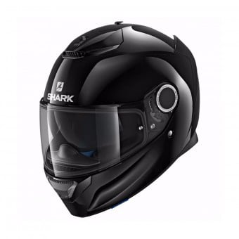 Casque Integral Shark Spartan 1.2 Dual Black BLK