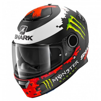 Casque Integral Shark Spartan 1.2 Replica Lorenzo Monster 2018 Mat KRG