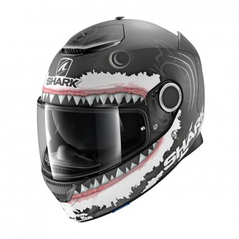Casque Integral Shark Spartan 1.2 Replica Lorenzo White Shark Mat KWA