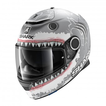 Casque Integral Shark Spartan 1.2 Replica Lorenzo White Shark Mat SWA