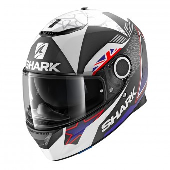 Casque Integral Shark Spartan 1.2 Replica Redding 2017 Mat KBW