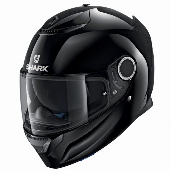 Casque Integral Shark Spartan Blank BLK