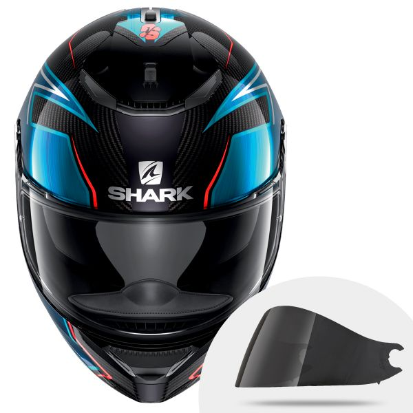 Shark Spartan Carbon Guintoli DUB + Ecran Fume Fonce