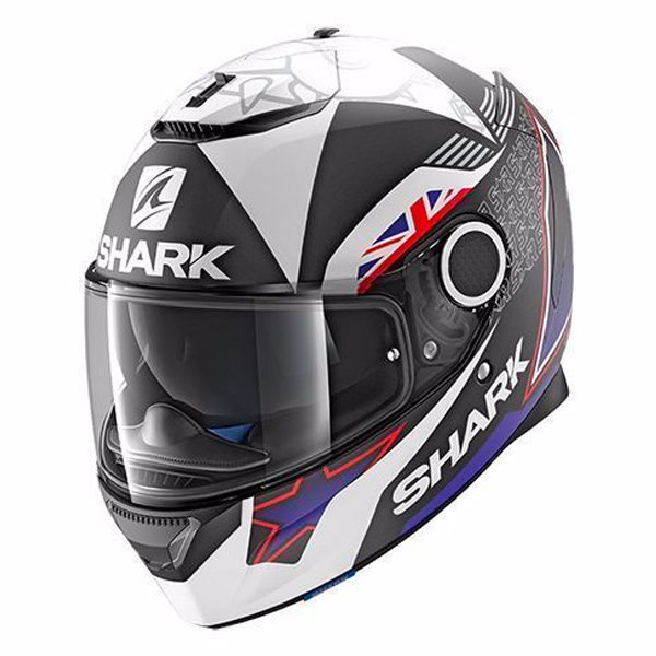 Casque Integral Shark Spartan Replica Redding 2017 Mat KWA