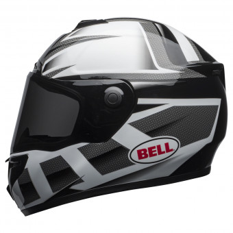 Casque Integral Bell Srt Predator White Black