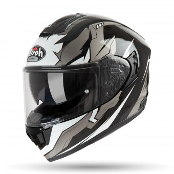 Casque Integral Airoh ST 501 Bionic Chrome Blanc