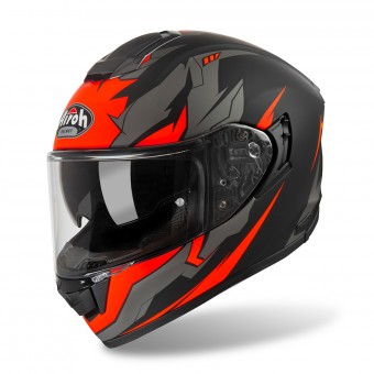 Casque Integral Airoh ST 501 Bionic Chrome Orange