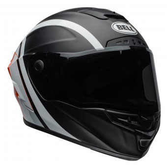 Casque Integral Bell Star Mips Tantrum Matte Black White Orange