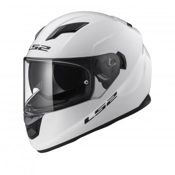 Casque Integral LS2 Stream Evo Solid Gloss White FF320