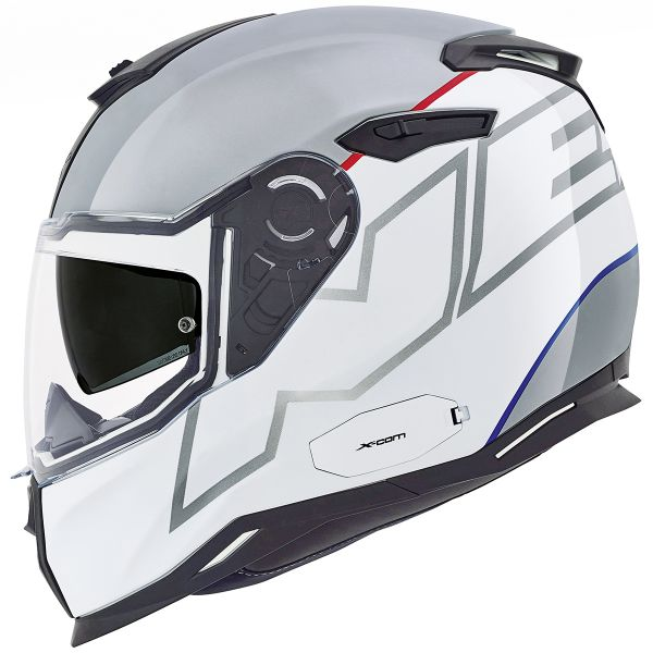 Casque Integral Nexx SX.100 Orion White Grey