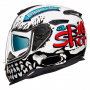 Casque Integral Nexx SX.100 Big Shot White