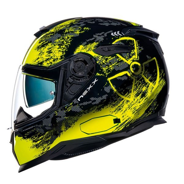 Casque Integral Nexx SX.100 Toxic Neon Yellow