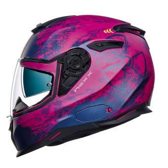 Casque Integral Nexx SX.100 Toxic Purple Matt