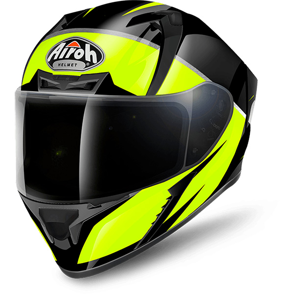 Casque Integral Airoh Valor Eclipse Yellow