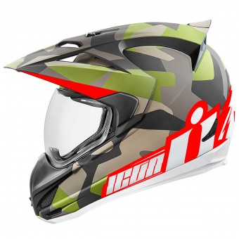 Casque Integral ICON Variant Deployed Camo