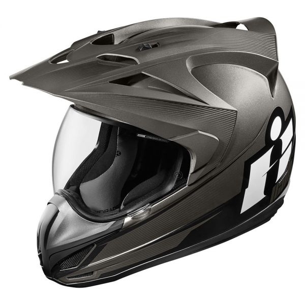 Casque Integral ICON Variant Double Stack Black