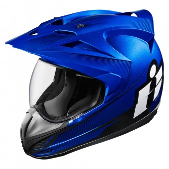 Casque Integral ICON Variant Double Stack Blue