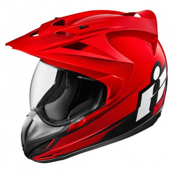 Casque Integral ICON Variant Double Stack Red