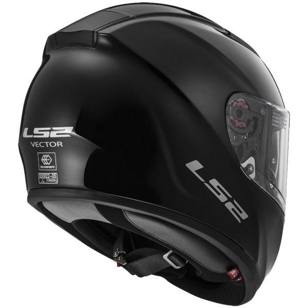 LS2 Vector Black FF397