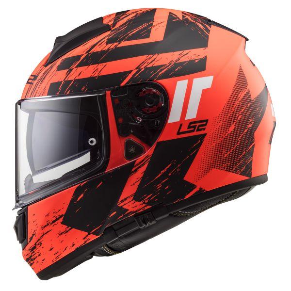 LS2 Vector Hunter Matt Fluo Orange Black FF397