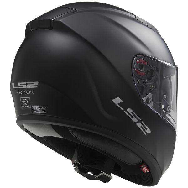 LS2 Vector Matt Black FF397
