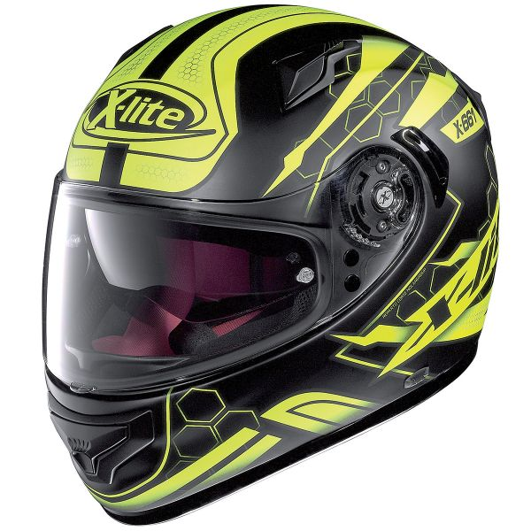 Casque Integral X-lite X-661 Honeycomb N-Com 32