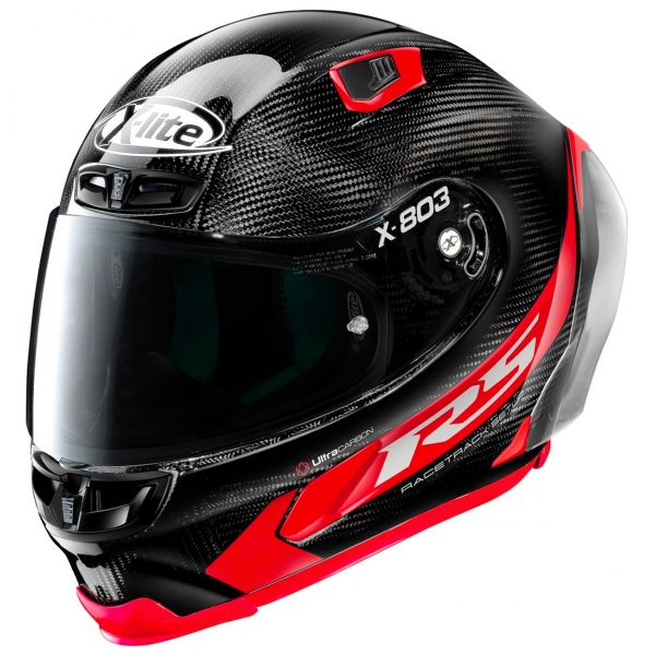 Casque Integral X-lite X-803 RS Carbon Hot Lap Red 13