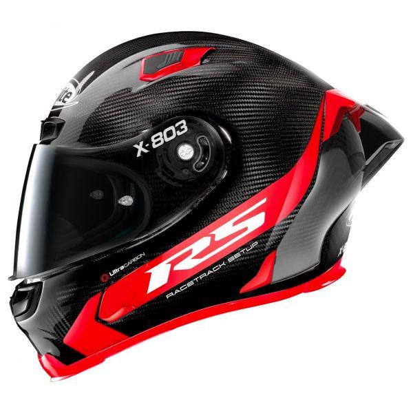 X-lite X-803 RS Carbon Hot Lap Red 13