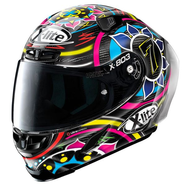 Casque Integral X-lite X-803 RS Carbon Replica C.Davies 23
