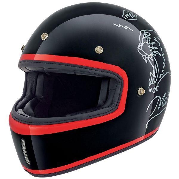 Casque Integral Nexx X.G100 Drake Black Full