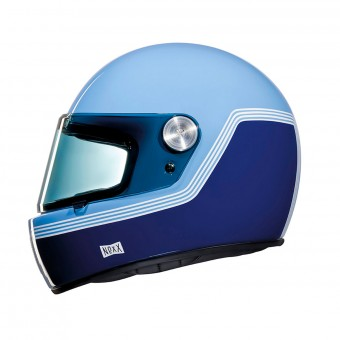 Casque Integral Nexx XG.100 R Motordrome Blue