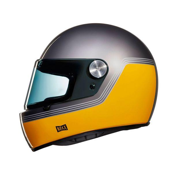 Casque Integral Nexx X.G100 R Motordrome Yellow