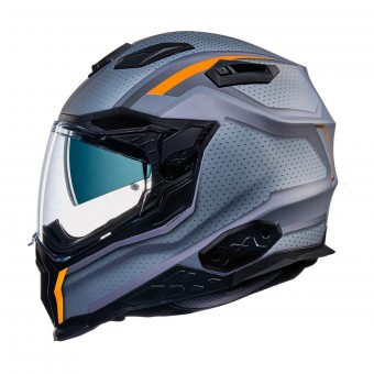 Casque Integral Nexx X.WST2 Motrox Black Orange Matt