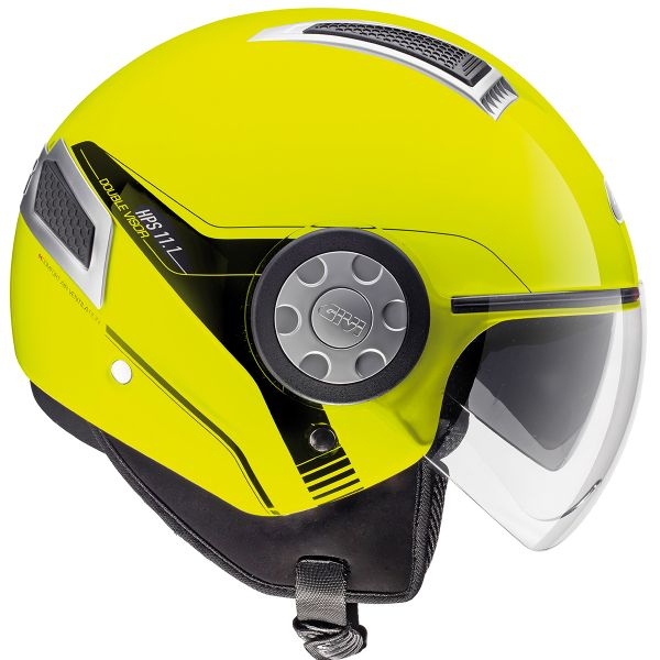 Casque Jet Givi 11.1 Air Neon Jaune