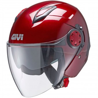 Casque Jet Givi 12.3 Stratos Burgandy
