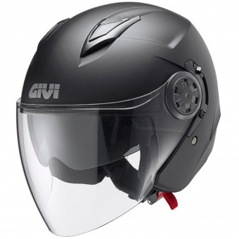 Casque Jet Givi 12.3 Stratos Matt Black