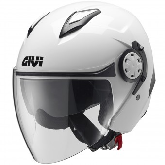 Casque Jet Givi 12.3 Stratos White