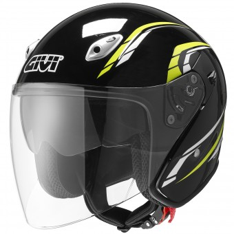 Casque Jet Givi 20.6 Fiber-J2 Plus Black