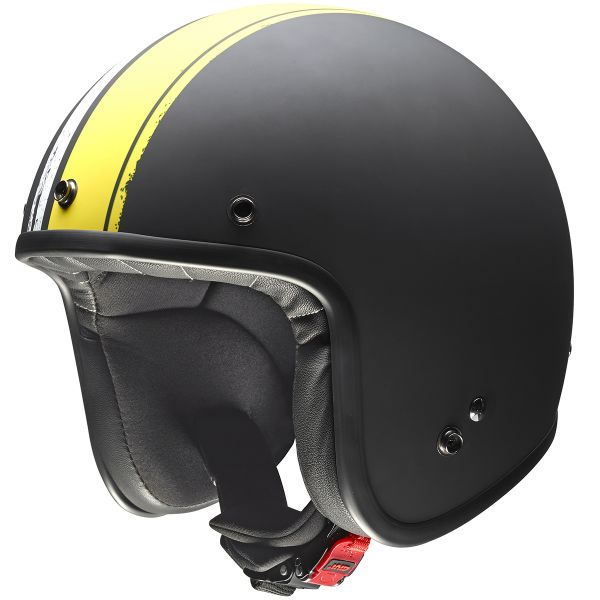 Casque Jet Givi 20.7 Oldster Black Yellow