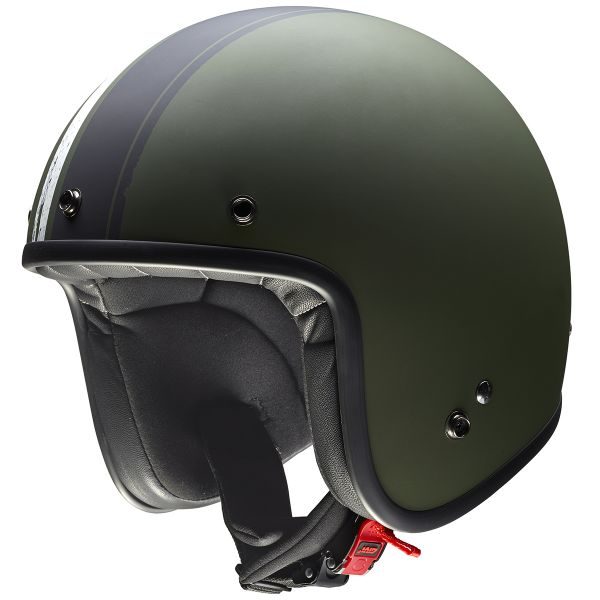 Casque Jet Givi 20.7 Oldster Military Green