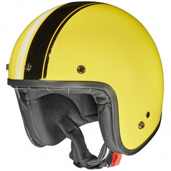 Casque Jet Givi 20.7 Oldster Yellow Black